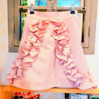 メリージェニー(merry jenny)のメリージェニー 台形スカート(ミニスカート)