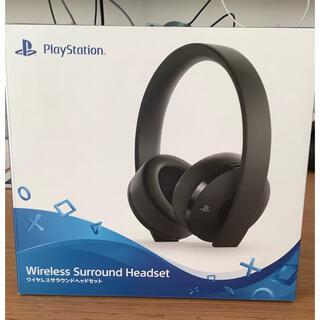 プレイステーション(PlayStation)のソニー ワイヤレスサラウンドヘッドセット CUHJ-15007(ヘッドフォン/イヤフォン)