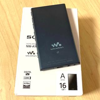 ウォークマン(WALKMAN)のSONY ウォークマン NW-A105  ブルー 16GB(ポータブルプレーヤー)
