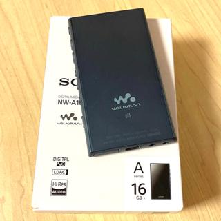 ウォークマン(WALKMAN)の値下げ‼️SONY ウォークマン NW-A105  ブルー 16GB(ポータブルプレーヤー)