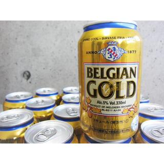 コストコ(コストコ)のコストコ ベルジャンゴールド 330ml×24本 21.6.22/〓YDA(ビール)