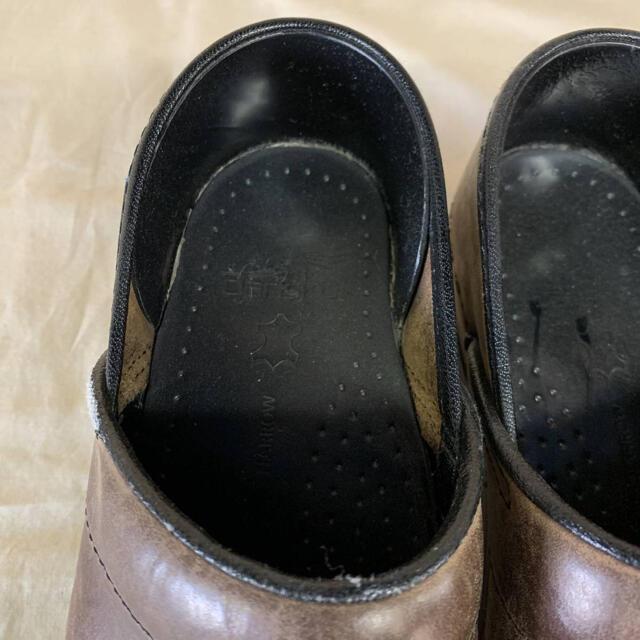 dansko(ダンスコ)のビンテージ ダンスコ コンフォートシューズ サボ スウェード 古着 レディースの靴/シューズ(その他)の商品写真