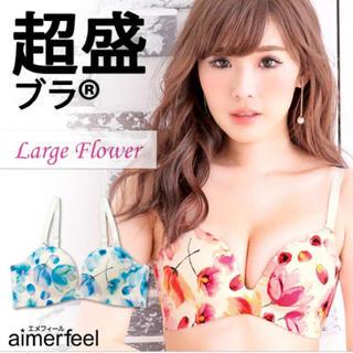 エメフィール(aimer feel)の2色有❤︎新品 上下セット E80(ブラ&ショーツセット)