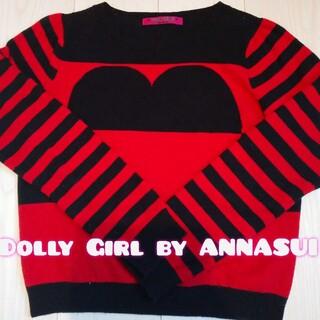 ドーリーガールバイアナスイ(DOLLY GIRL BY ANNA SUI)のDollyGirlbyANNASUI🌹ニット(ニット/セーター)