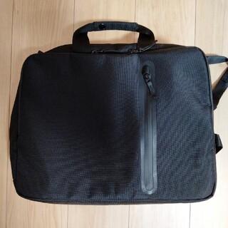 ユニクロ(UNIQLO)のユニクロ 3WAYバッグ ブラック ビジネス カジュアル (ビジネスバッグ)