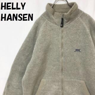 ヘリーハンセン(HELLY HANSEN)の【人気】ヘリーハンセン ジップアップジャケット 起毛 グレー サイズL(その他)