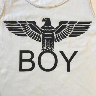 ボーイロンドン(Boy London)のレア↑ イタリア製 テロテロなBOY LONDONのタンクトップってアレ←(タンクトップ)