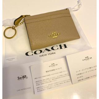 COACH - COACH コーチ キーリング付 小銭入れ