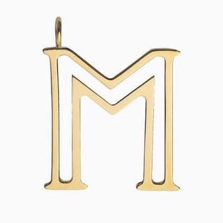 クロエ(Chloe)のm - 「alphabet」バッグペンダント(キーホルダー)