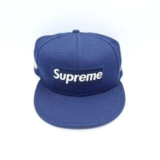 シュプリーム(Supreme)のSUPREME 18ss Mesh Box Logo New Era Cap(キャップ)