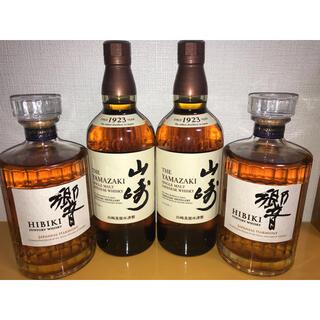 サントリー(サントリー)の響 山崎 4本セット JH NV(ウイスキー)