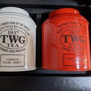 TWG 2缶セット(茶)