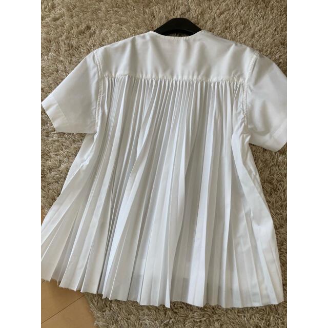 sacai luck(サカイラック)のsacai luck バックプリーツトップス レディースのトップス(Tシャツ(半袖/袖なし))の商品写真