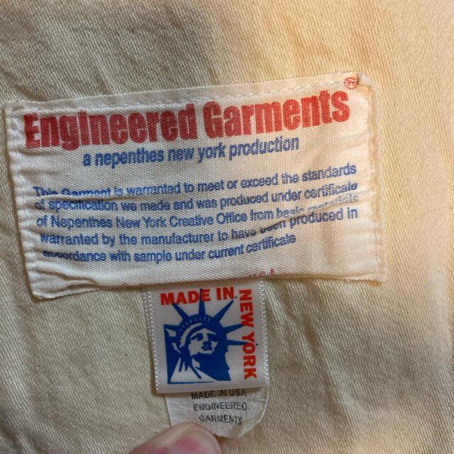 Engineered Garments(エンジニアードガーメンツ)のEngineered Garments コーデュロイジャケット メンズのジャケット/アウター(ブルゾン)の商品写真