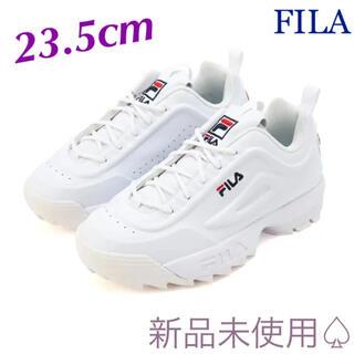 フィラ(FILA)の【FILA】ディスラプター2 厚底ダッドスニーカー【ホワイト】(スニーカー)