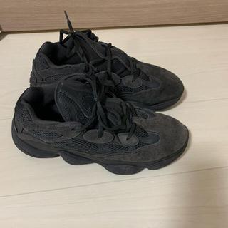 アディダス(adidas)の最終値下げ ADIDAS YEEZY 500 UTILITY BLACK(スニーカー)