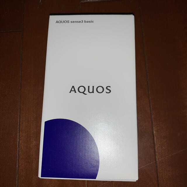 AQUOS(アクオス)のアクオス sense3 basic スマホ/家電/カメラのスマートフォン/携帯電話(スマートフォン本体)の商品写真