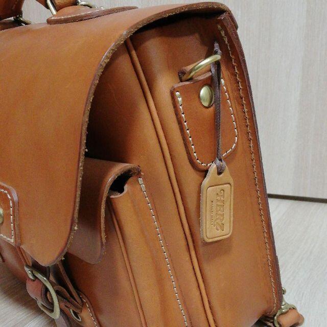 HERZ(ヘルツ)の【美品】ヘルツ HERZ ダブルポケットスタンダード3wayバッグ(BC-74) メンズのバッグ(バッグパック/リュック)の商品写真