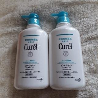 キュレル(Curel)のキュレル 潤浸保湿ローション(乳液タイプ)顔・からだ用  ポンプタイプ2本(乳液/ミルク)