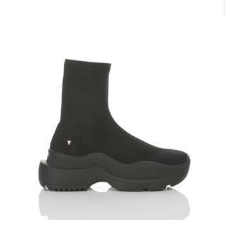 イエローブーツ(Yellow boots)のyello  BAISEN SNEAKER SHORT BOOTS サイズM(ブーツ)