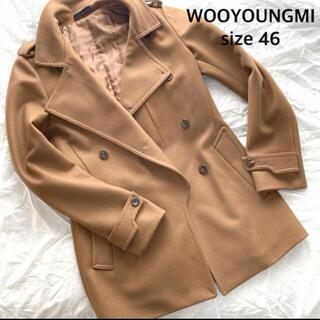 ウーヨンミ(WOO YOUNG MI)のウーヨンミ キャメル コート(ピーコート)