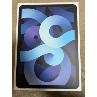 アイパッド(iPad)のApple iPad Air4 64GB スカイブルー Wi-Fiモデル(タブレット)