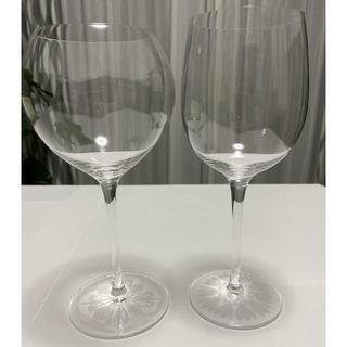 スガハラ(Sghr)のsghr ワイングラス2種セット【加工品】(グラス/カップ)