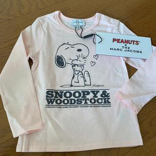 マークジェイコブス(MARC JACOBS)の新品未使用 マークジェイコブス スヌーピー コラボ 長袖Tシャツ サイズ3(Tシャツ/カットソー)