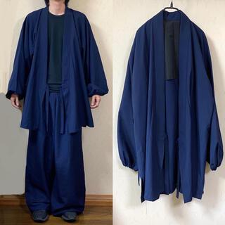 ヨウジヤマモト(Yohji Yamamoto)の90's vintage 羽織り 着物 kimono jacket haori(ナイロンジャケット)