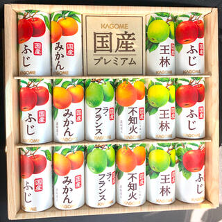 カゴメ(KAGOME)のKAGOME カゴメ   国産プレミアム フルーツジュース 定価3240円(ソフトドリンク)