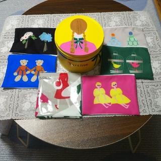 sale  Tartine タルティン 限定缶M ハンカチ付き(菓子/デザート)