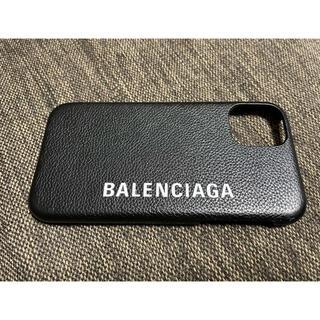 バレンシアガ(Balenciaga)のバレンシアガBALENCIAGA iphone 11 スマホケース 黒(iPhoneケース)