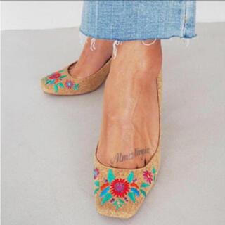 アリシアスタン(ALEXIA STAM)のALEXIASTAM 刺繍パンプス(ハイヒール/パンプス)