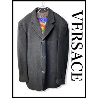 ヴェルサーチ(VERSACE)のVERSACE ヴェルサーチ ウール テーラードジャケット 古着 ヴィンテージ (テーラードジャケット)