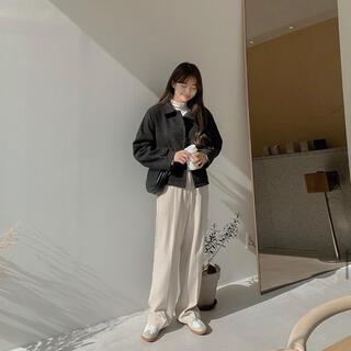 ゴゴシング(GOGOSING)のgogosing ショート ジャケット コート 韓国ファッション 韓国(テーラードジャケット)