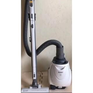 三菱 - 三菱 2018年 軽量&強力 紙パック式掃除機 TC-FXH5J 白灰色