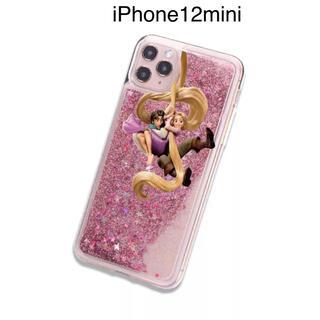 ラプンツェル(ラプンツェル)の新品iPhone12miniディズニーラプンツェルグリッタプリンセスDisney(iPhoneケース)