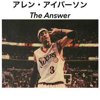 ポスター 039 NBA アレン・アイバーソン The Answer(その他)