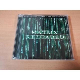映画サントラCD「マトリックス・リローデッドTHE ALBUM」2CDキアヌ・リ(映画音楽)