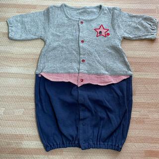 ニシキベビー(Nishiki Baby)のボンシュシュ ツーウェイオール カバーオール 50〜60(カバーオール)