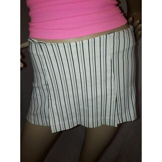 アナップラティーナ(ANAP Latina)のANAP USA ストライプ スカート ショーパン 白(ショートパンツ)
