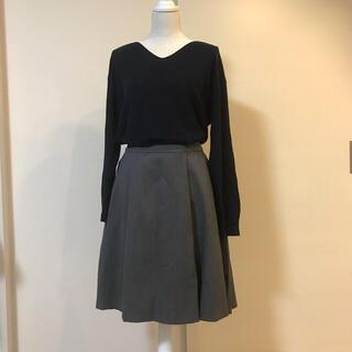 アドーア(ADORE)の美シルエット♡アドーア 上品ふんわりボリュームスカート ウール99% 春服に♪(ひざ丈スカート)