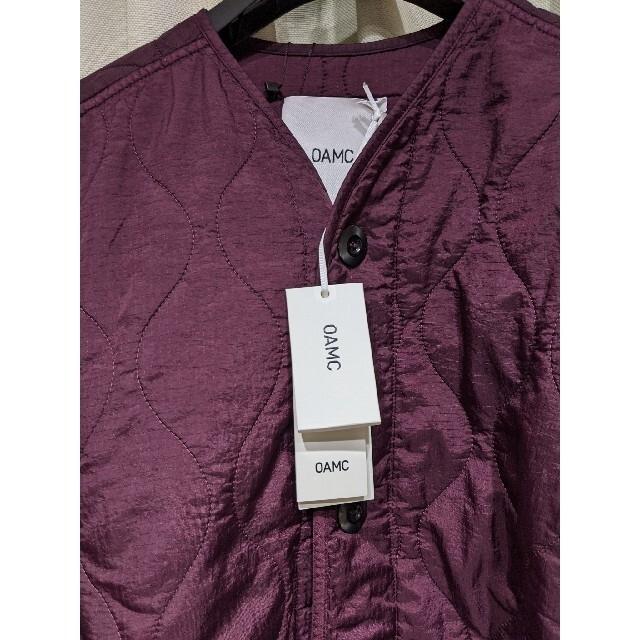 Jil Sander(ジルサンダー)の新品タグ付 oamc 20aw combat M メンズのジャケット/アウター(ミリタリージャケット)の商品写真