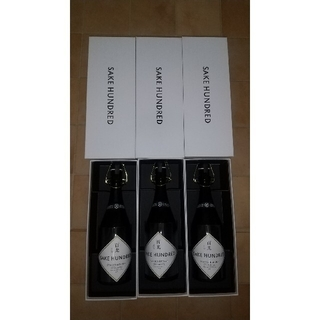 SAKE HUNDRED  百光 別誂のニ本セット 新品未使用(日本酒)