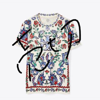 トリーバーチ(Tory Burch)のトリーバーチ ポーセリン シスル ロゴ Tシャツ  (Tシャツ(半袖/袖なし))