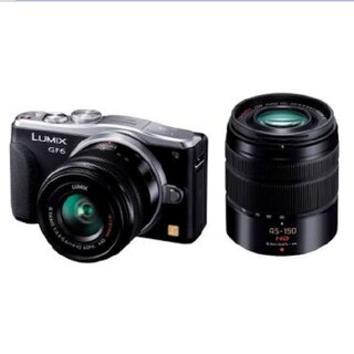 Panasonic - Panasonic LUMIX G DMC-GF6W 黒
