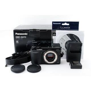Panasonic - Panasonic パナソニック LUMIX DMC-GX7 ボディ