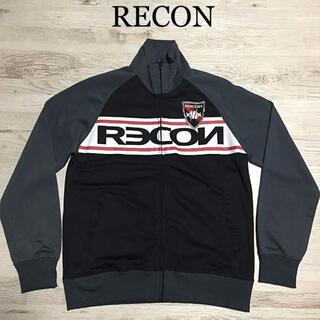 リーコン(RECON)の★レア物★ RECON ジャージ 黒L ジャケット リーコン(ジャージ)