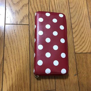 コムデギャルソン(COMME des GARCONS)の専用商品 コムデギャルソン 長財布 赤の水玉(財布)