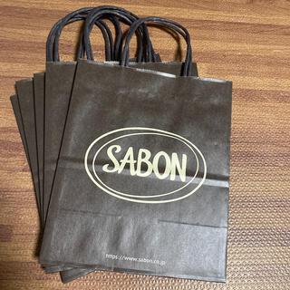 サボン(SABON)のSABON ショッパー 紙袋 セット(ショップ袋)